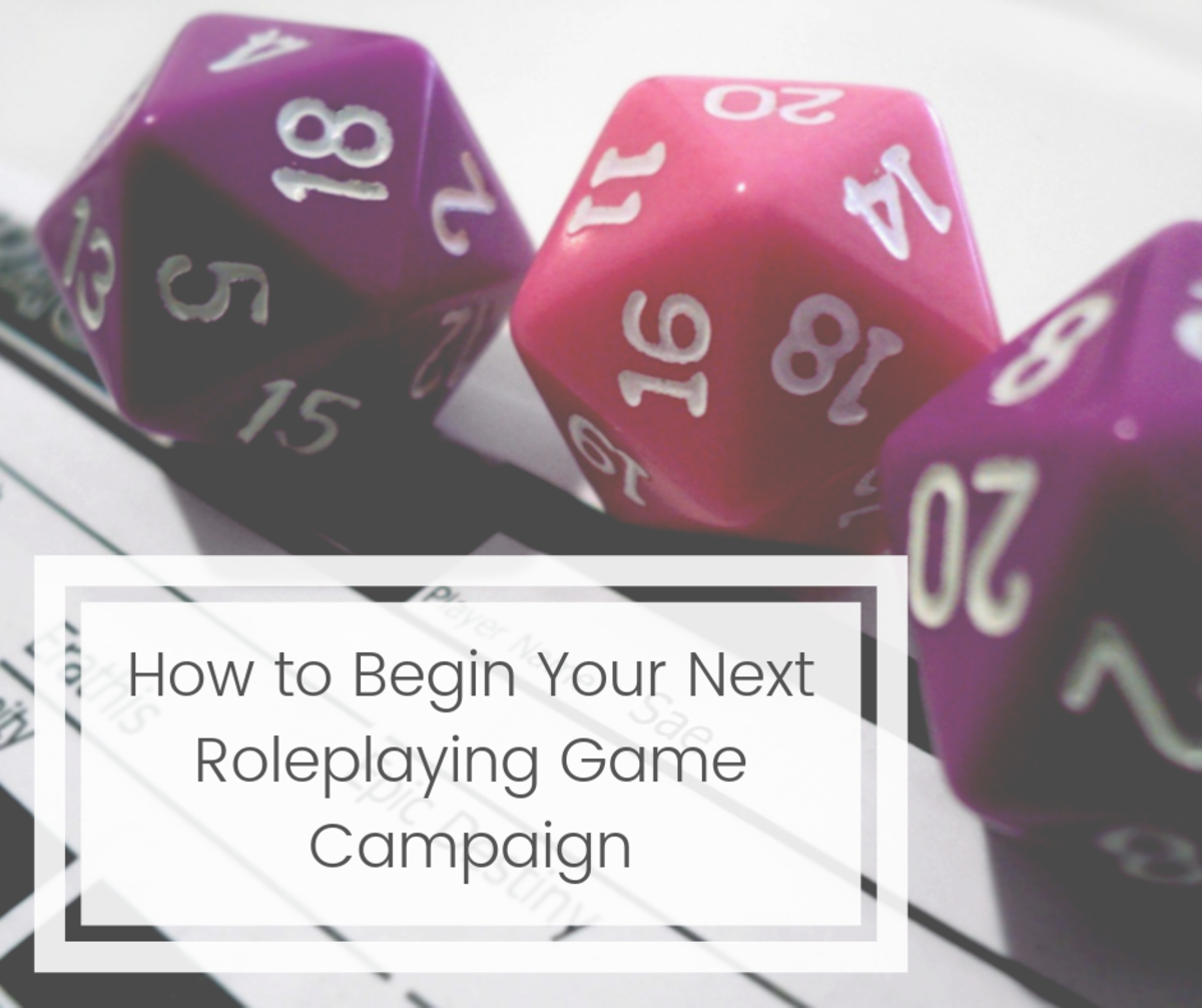 Here are three tips for beginning your next roleplaying game campaign, that should help create a smooth start and ease your players into the story.