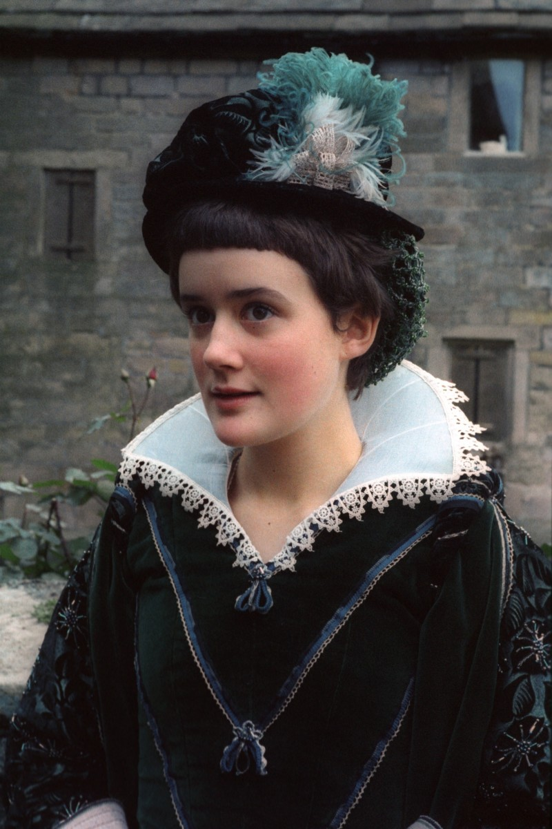A Still from the series A Traveller in Time 1978  Penelope Taberner Cameron played by Sophie Thompson
