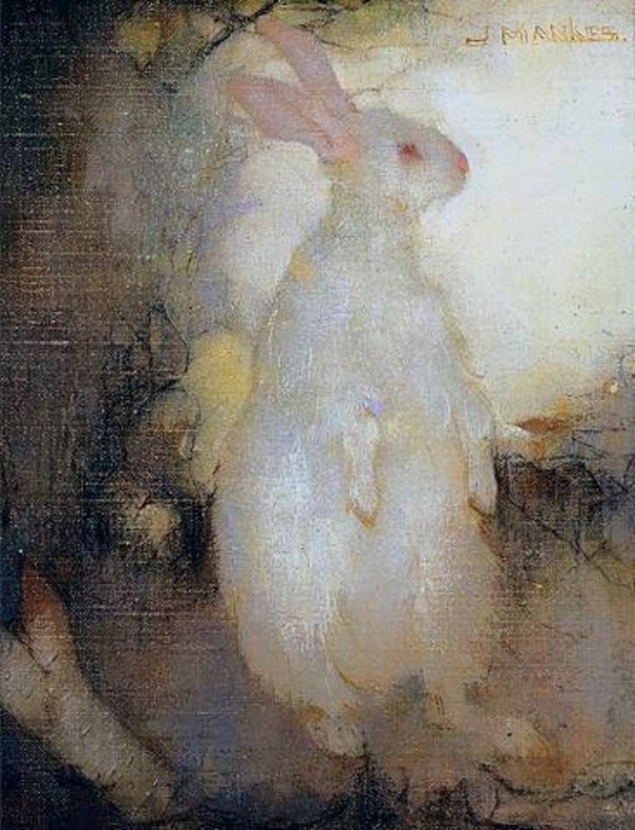 The White Hare - a fairy tale