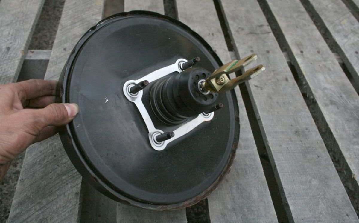 Automotive brake booster