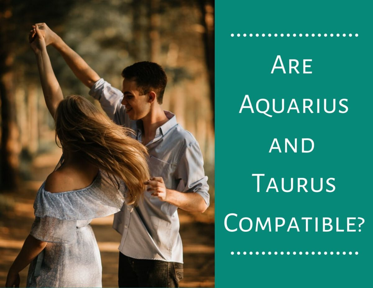 Like winter's rain brings about spring's flowers, Aquarius and Taurus can help each other grow a beautiful romance.