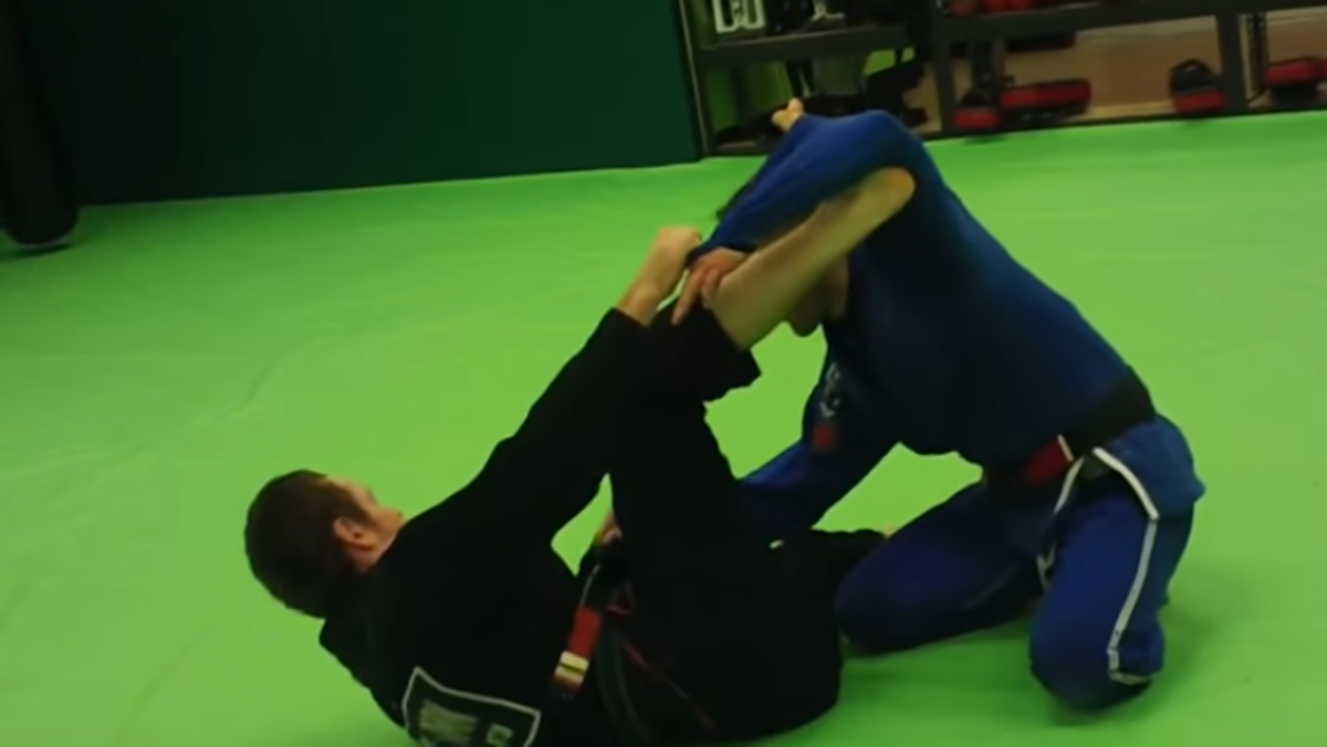 Spider Guard for BJJ