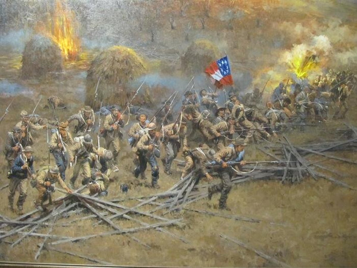 Confederate troops at Prairie Grove, the bloody battle of Prairie Grove was a tactical draw, but once again the Confederates were forced to retreat south towards Van Buren, and Missouri remained firmly in Union hands.