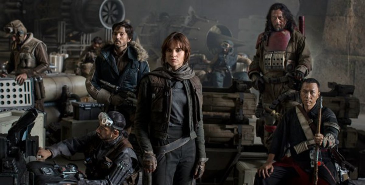 "My Review of ""Rogue One: A Star Wars Story"" - NO SPOILERS"