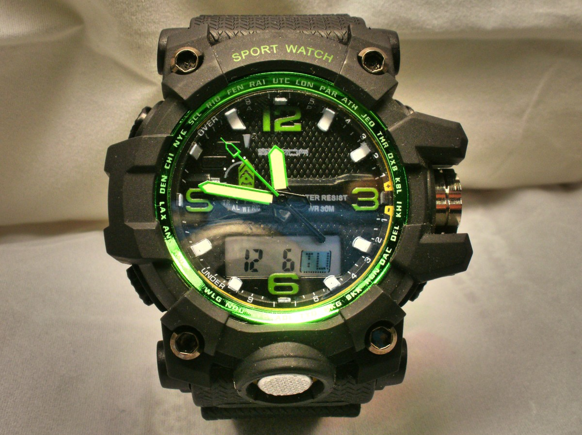 Sanda 723 Military Style Watch