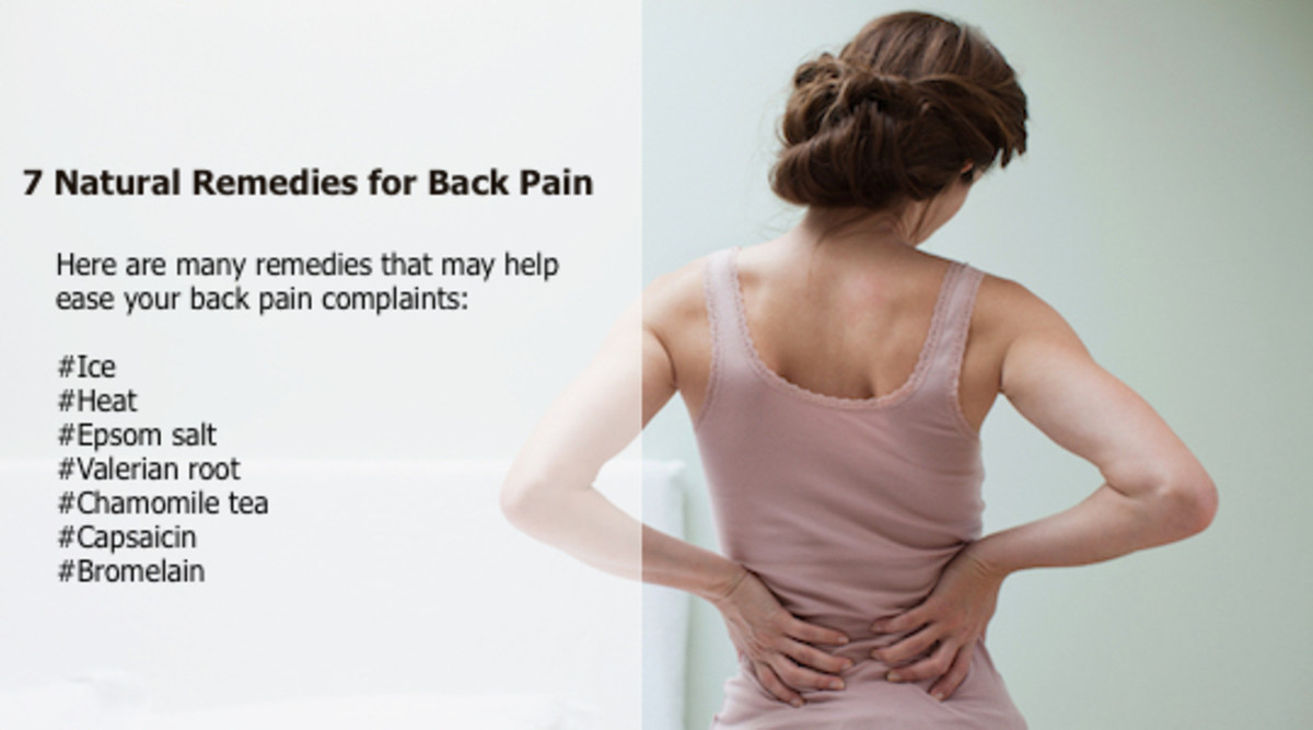 There are a number of natural back pain relief options that can help ease your complaints.