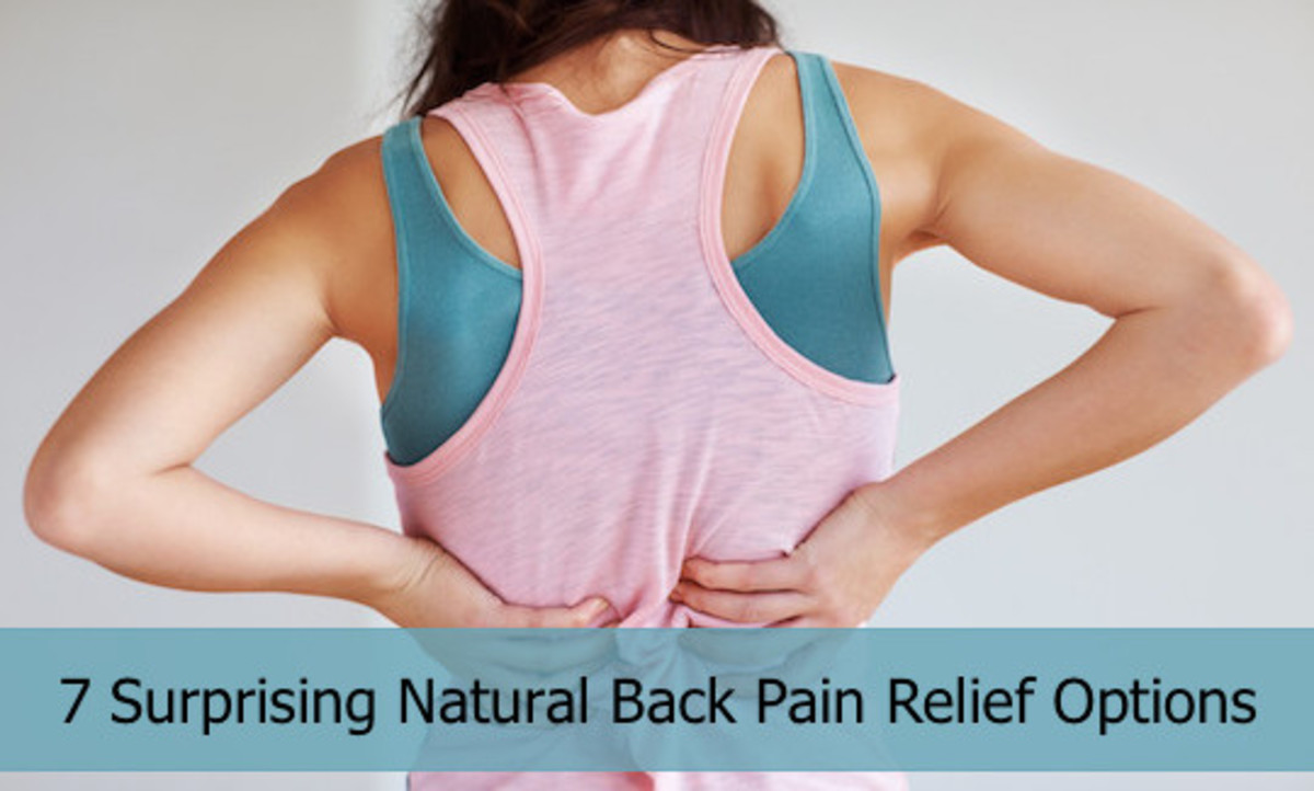 7 Surprising Natural Back Pain Relief Options