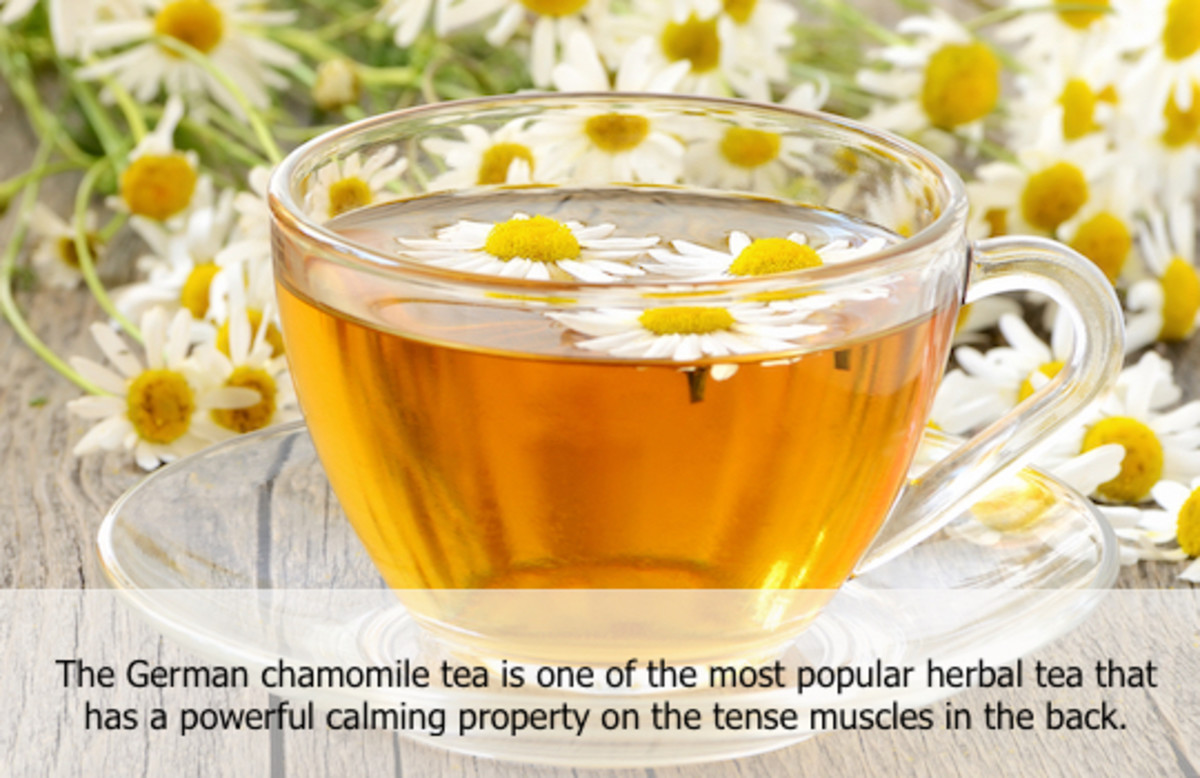 If you are a big fan of natural therapies, you can give German chamomile tea a try!