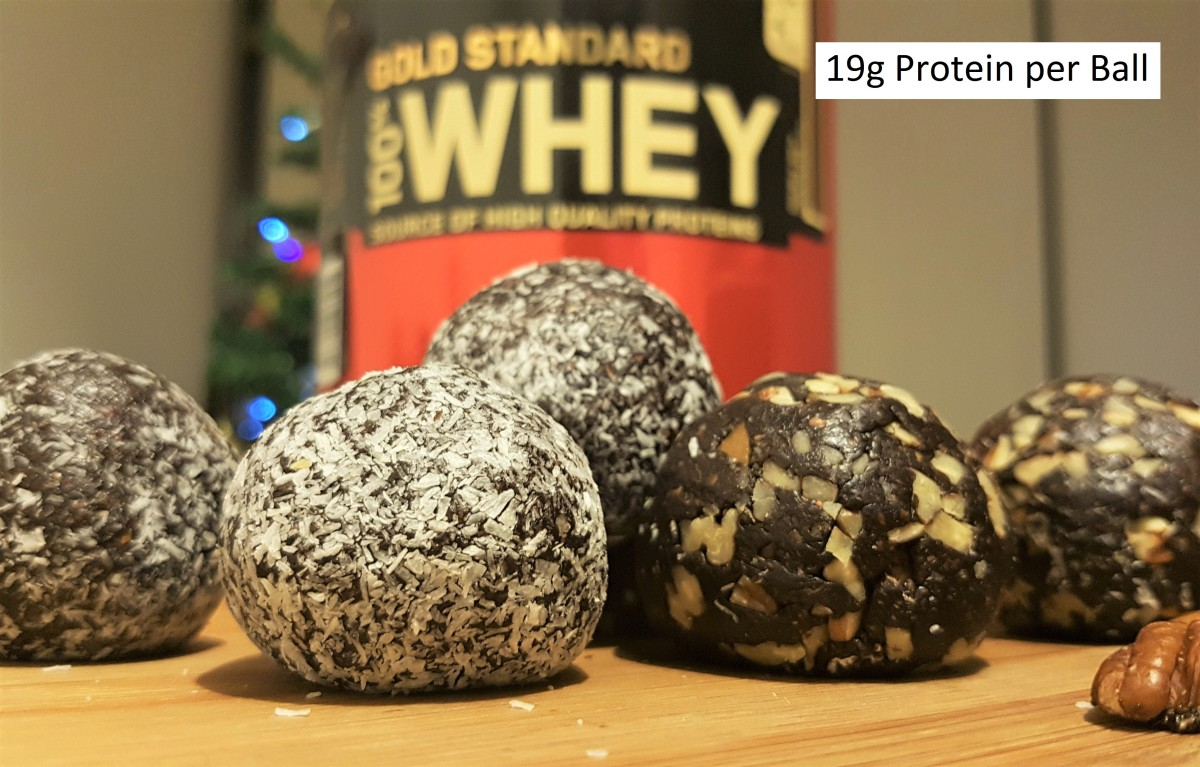 No-bake Chocolate Protein Balls Recipe