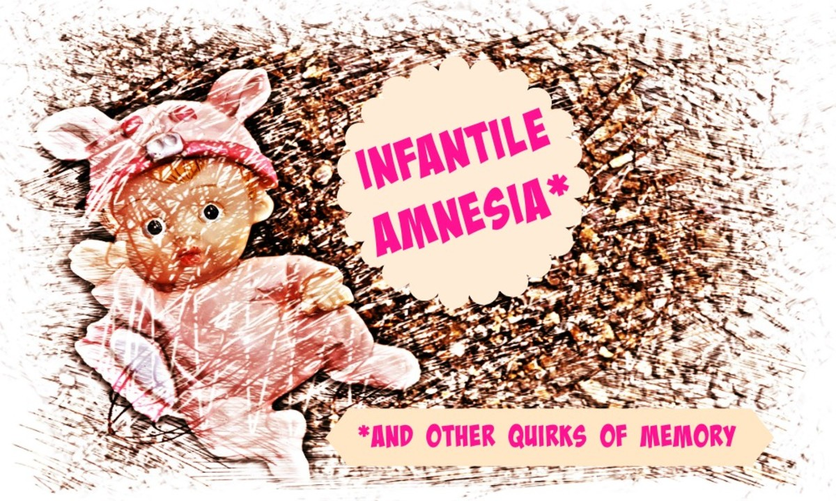 Infantile amnesia is the term used to describe the phenomena of having no memories from our earliest years.