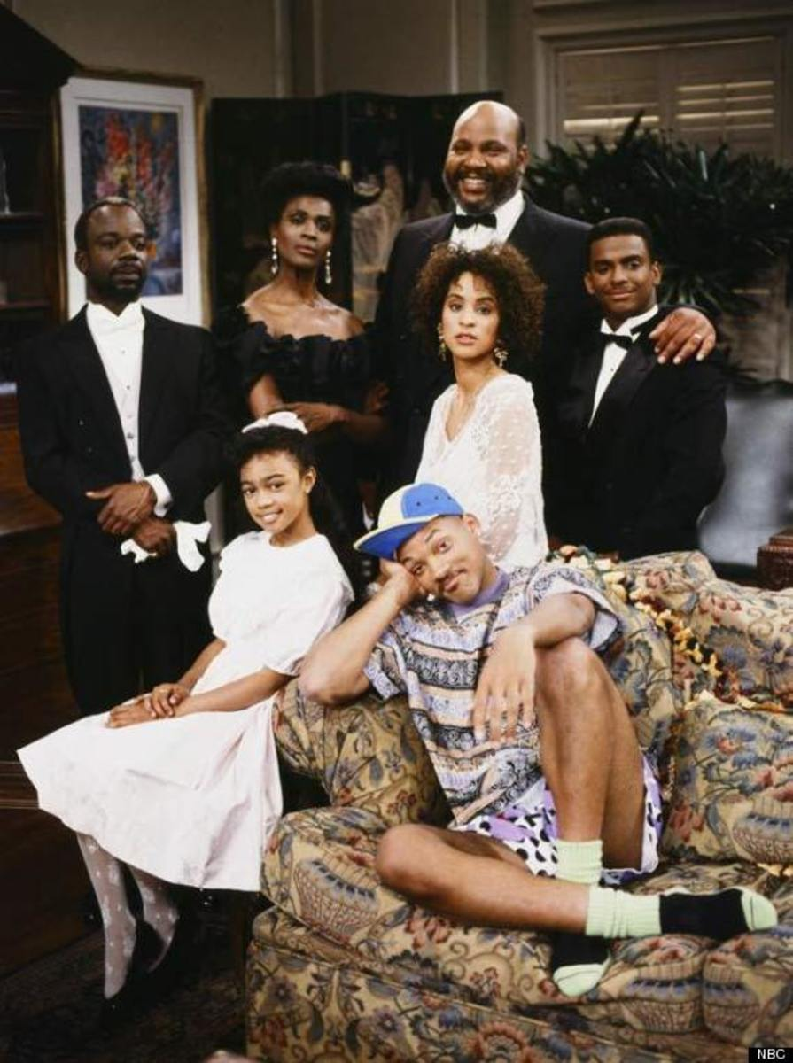 The Fresh Prince of Bel-Air cast in 1990!