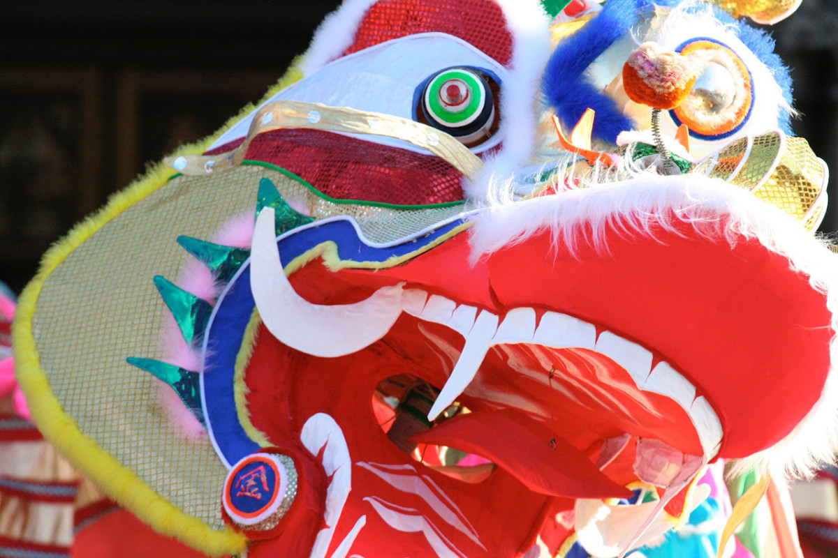 The Chinese New Year legend of Nian details how the color red came to be associated with the lunar festival.