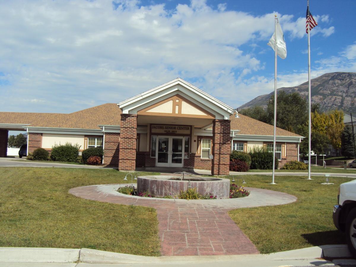 The Jacobs Senior Center, Pleasant Grove, Utah, USA -  Population 34,500