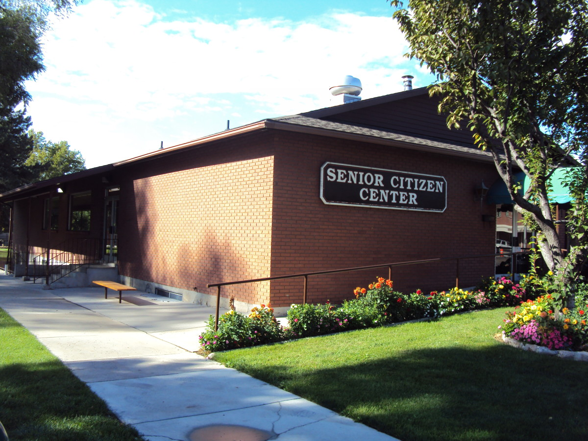 The Senior Center in American Fork, Utah, USA Population - 27,000