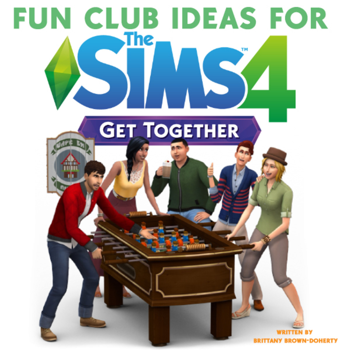 Fun club ideas for the Sims 4 Get Together expansion pack!