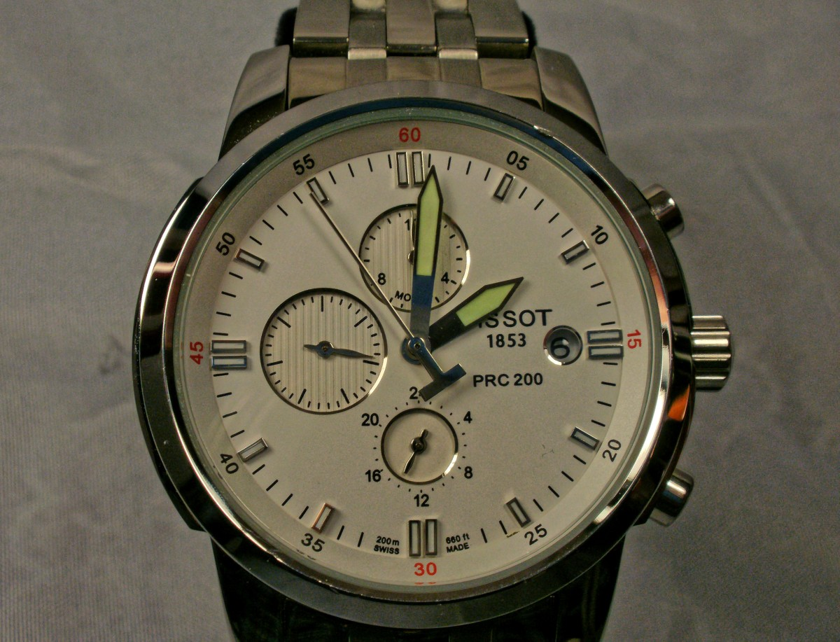 Anatomy of a Replica Tissot PRC-200 Watch