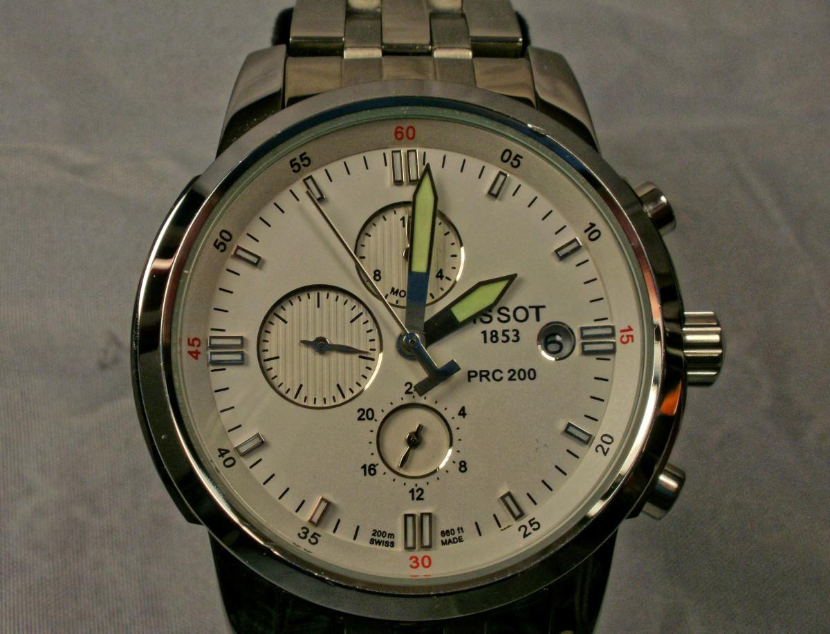 Anatomy of a Replica Tissot PRC-200 Watch | Bellatory