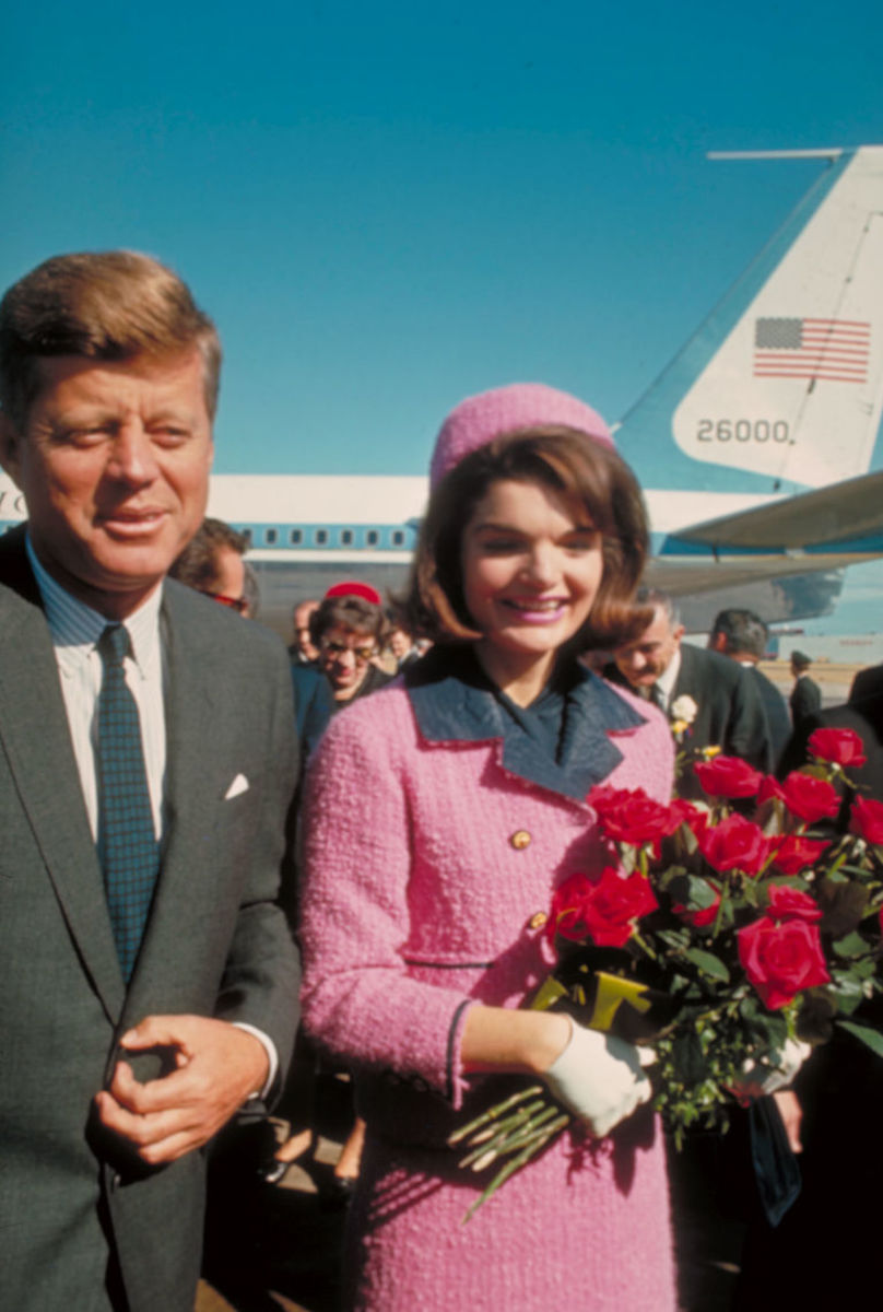 President and Jackie Kennedy on that fateful day in Dallas.