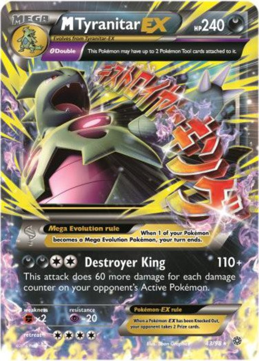 Top 6 Mega Pokemon Cards