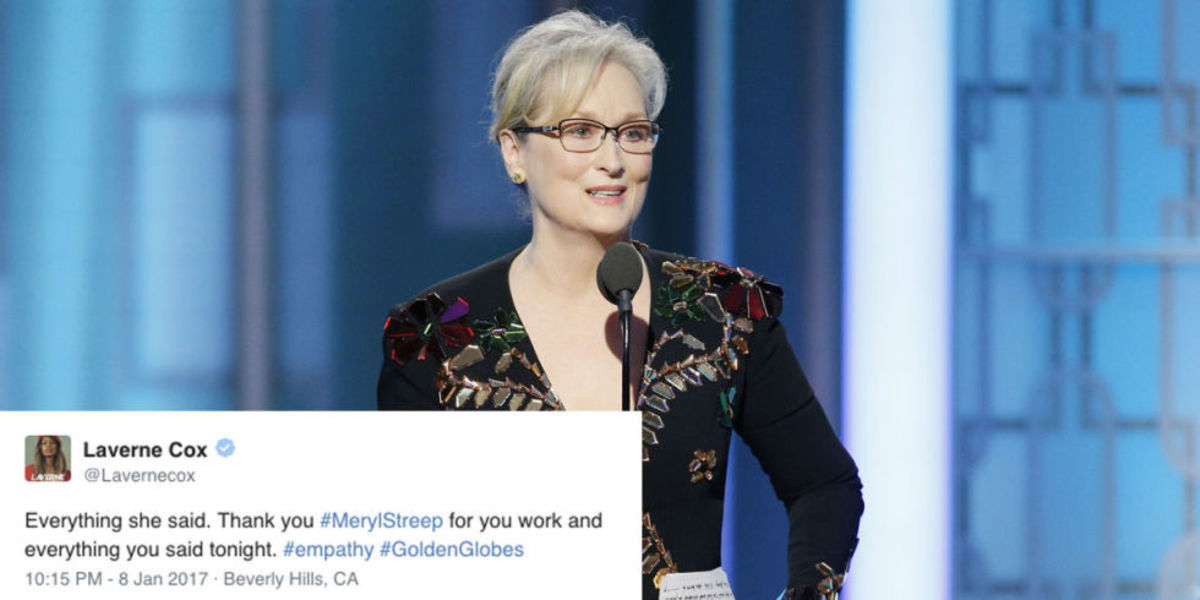 Why Meryl Streep's Globes Acceptance Speech Is Important
