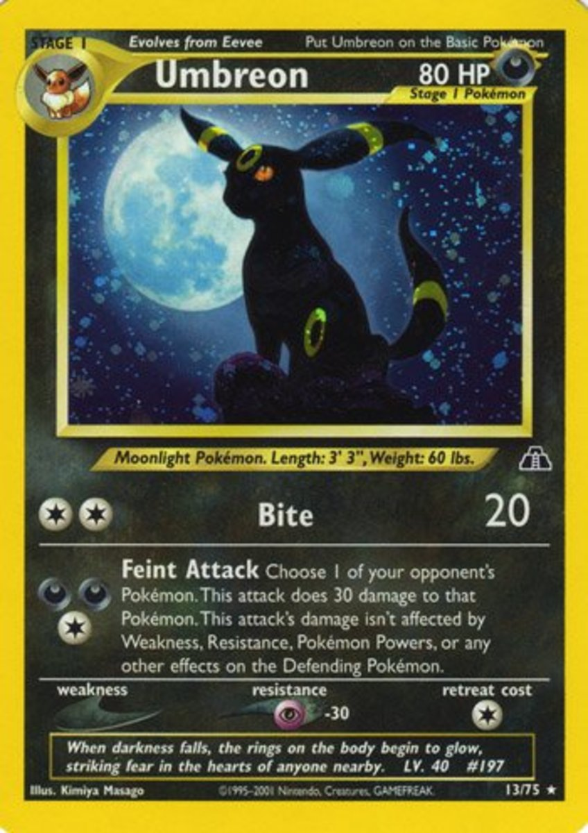 Top 6 Pokemon Cards: Neo Discovery Expansion