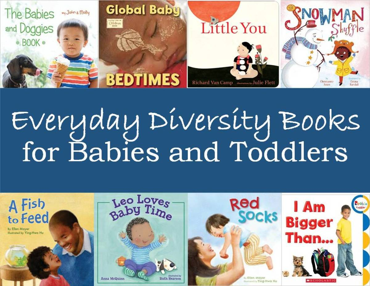 Everyday Diversity Books for Babies and Toddlers: a List of Titles for the Youngest Children