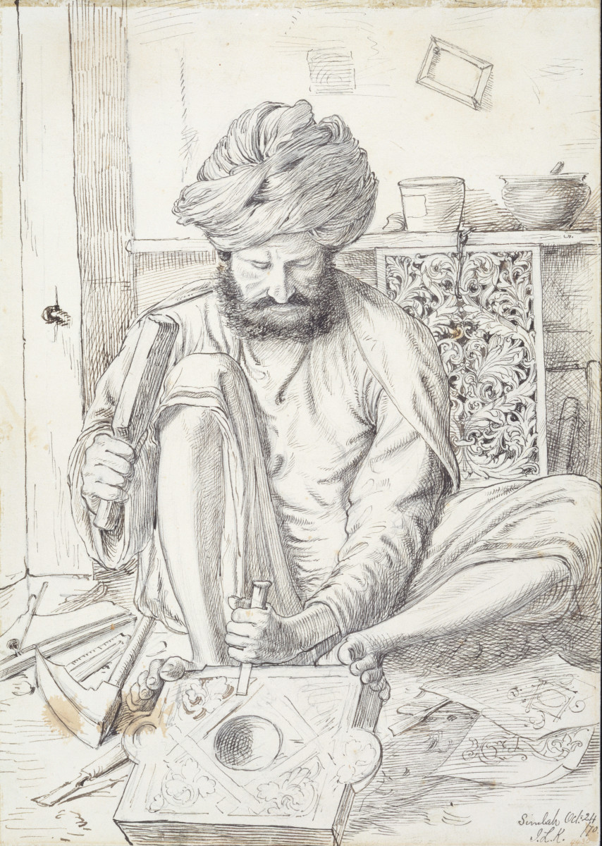 Lockwood Kipling: Arts and Crafts in the Punjab and London – Exhibition at V&A Museum