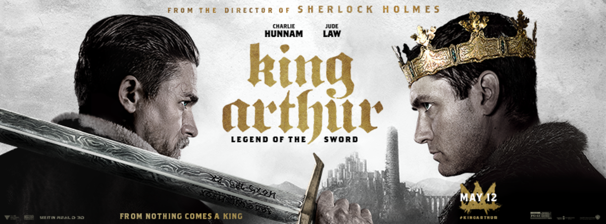 Promotional image from Warner Bros. for King Arthur: Legend of the Sword.