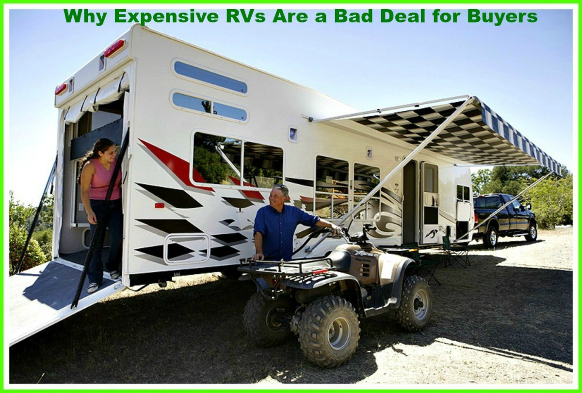 Expensive RVs can cost buyers far more than they ever imagined possible.