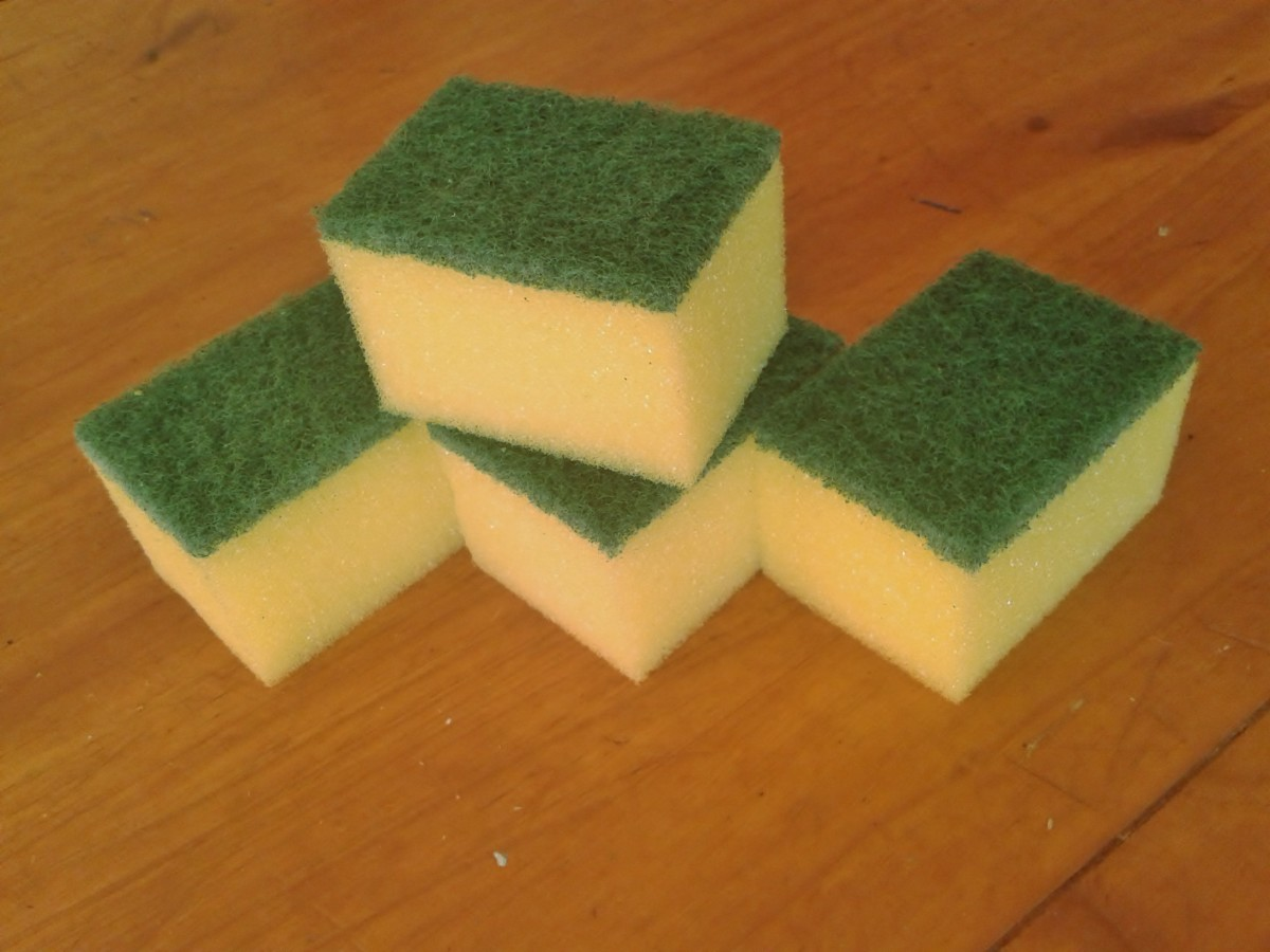 Top 22 frugal uses for your kitchen sponge toughnickel - Seven different uses of the kitchen sponge ...