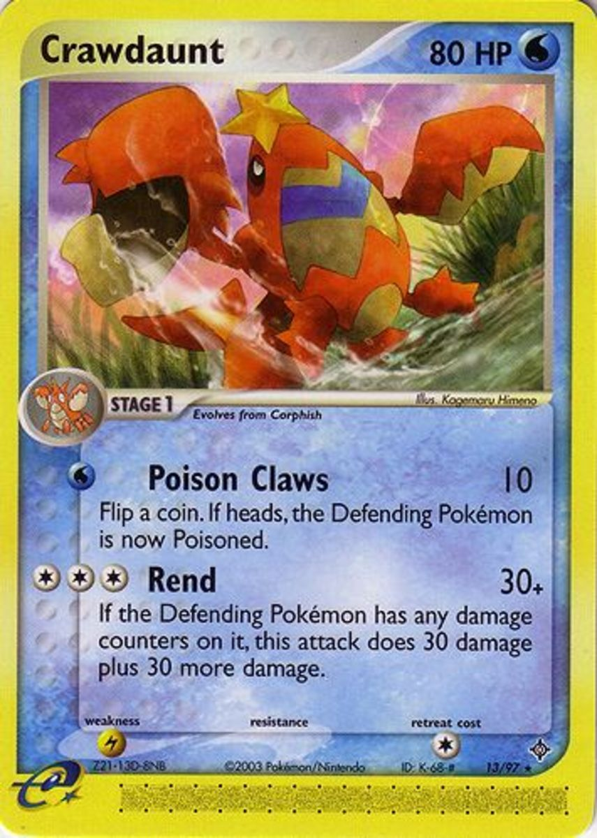 Top 6 Pokemon Cards: EX Dragon Expansion