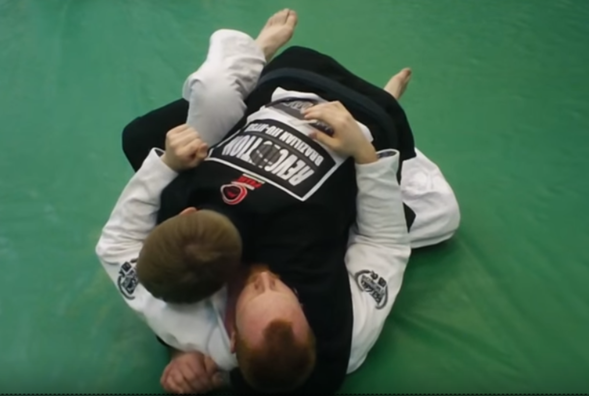 How to Do a Leg Staple Guard Pass in BJJ | HowTheyPlay