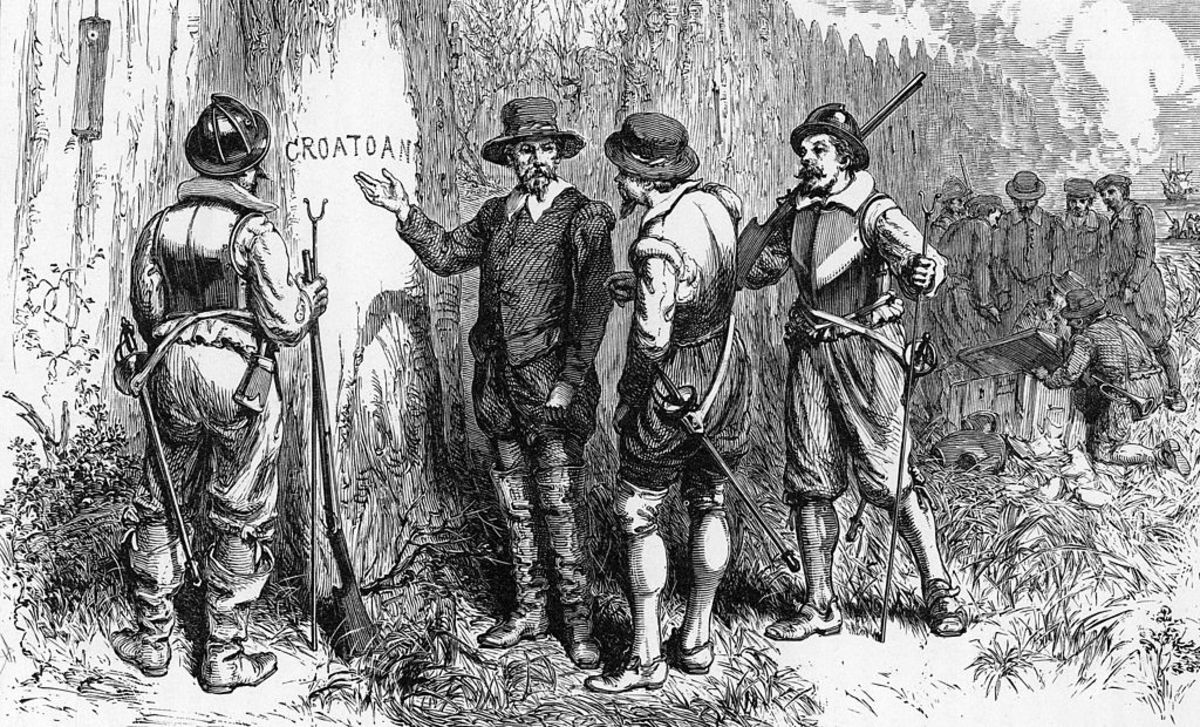 Circulating Theories Around the Disappearance of the Lost Colony