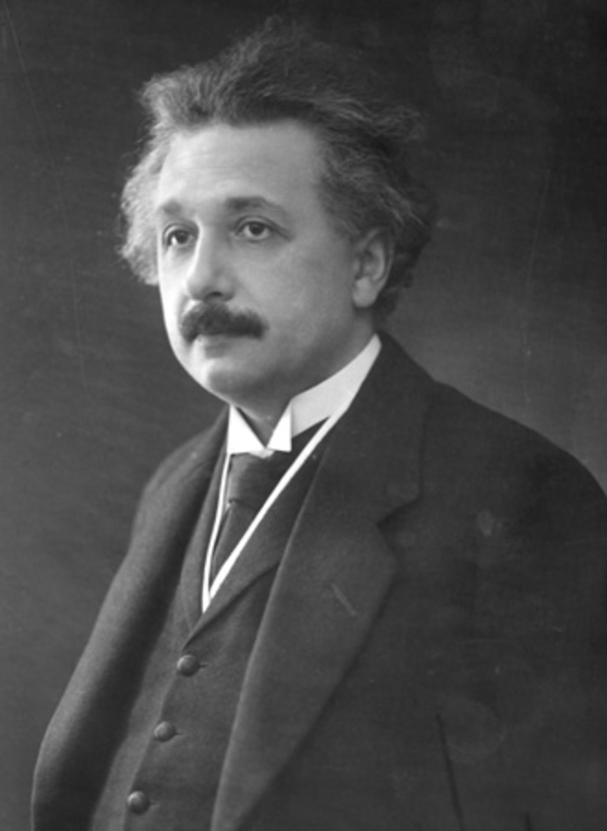 Albert Einstein, the most famous scientist of all time.