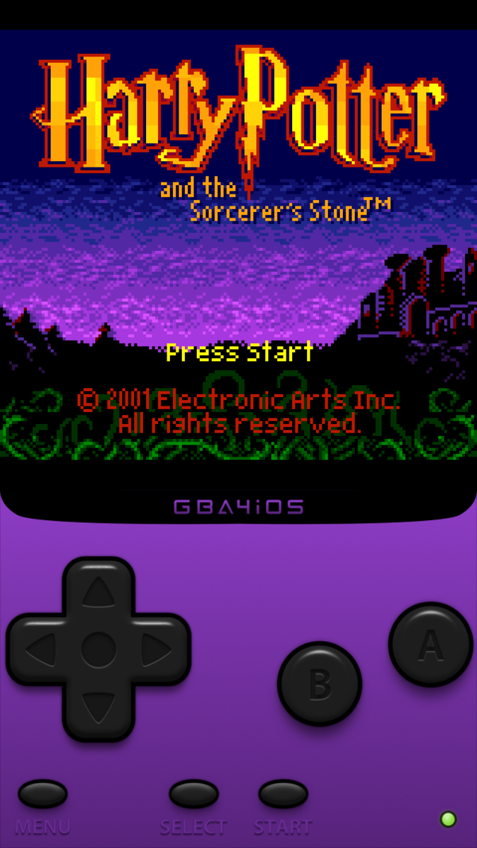 Harry Potter and The Sorcerer's Stone GBC Game Review