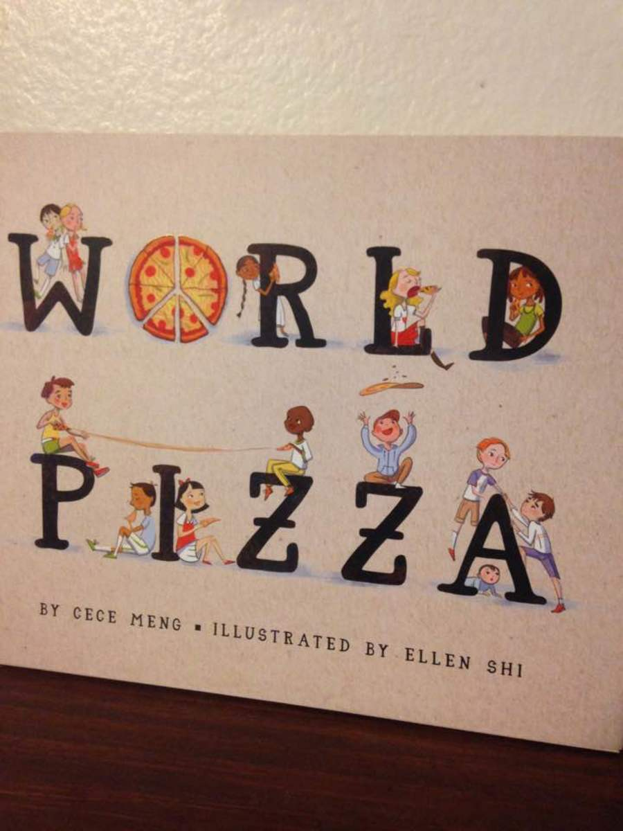 Cece Meng's New Picture Book World Pizza Celebrates Problem Solving with Delicious Pizza