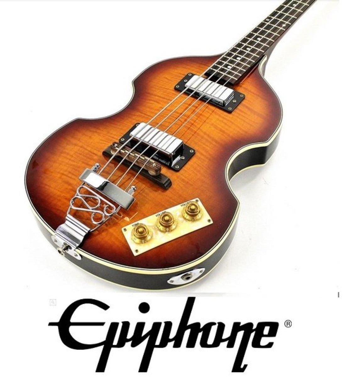 "Product Review: Epiphone Viola ""Beatle"" Bass Guitar"