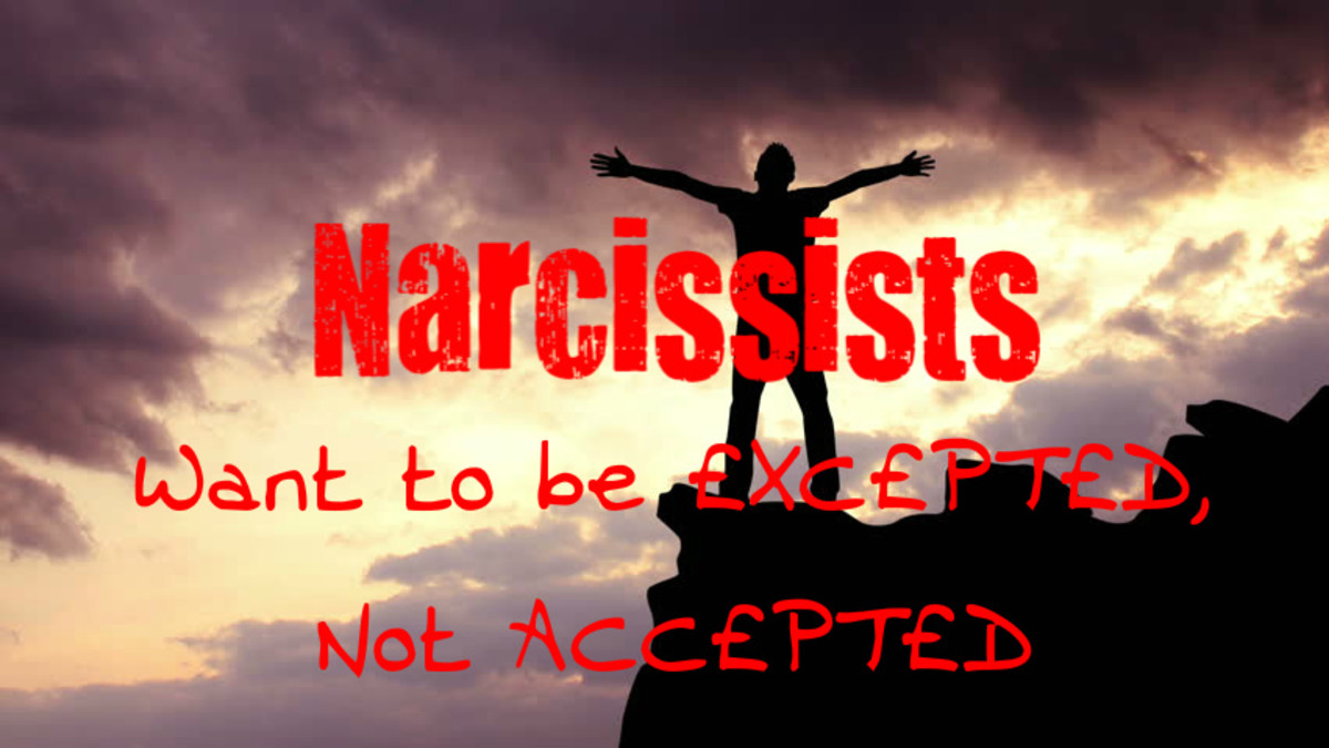 Narcissists Don't Really Want to Be Accepted