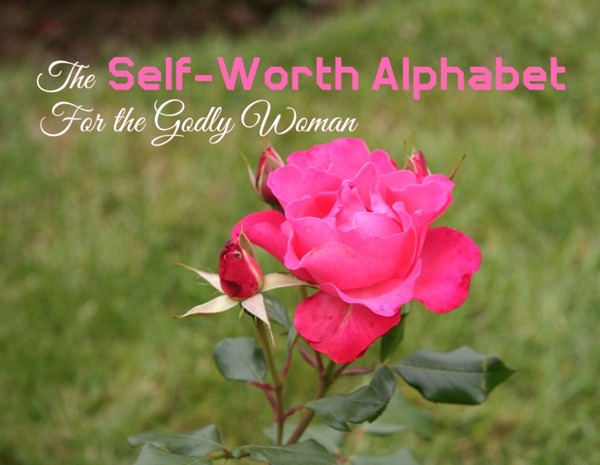Self-Worth Alphabet for the Godly Woman