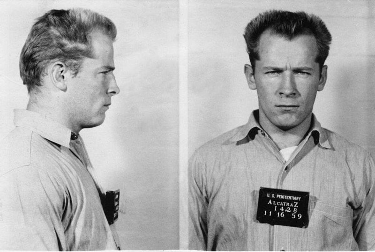 Whitey Bulger's mugshot from 1959.