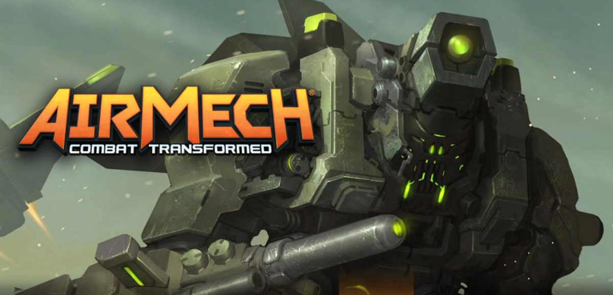 The Neo, one of the many AirMechs that a player can use in AirMech