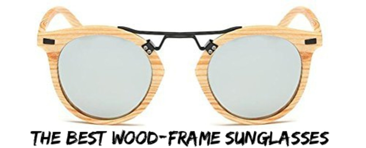 Wood-Frame Sunglasses -- Here Are the Best