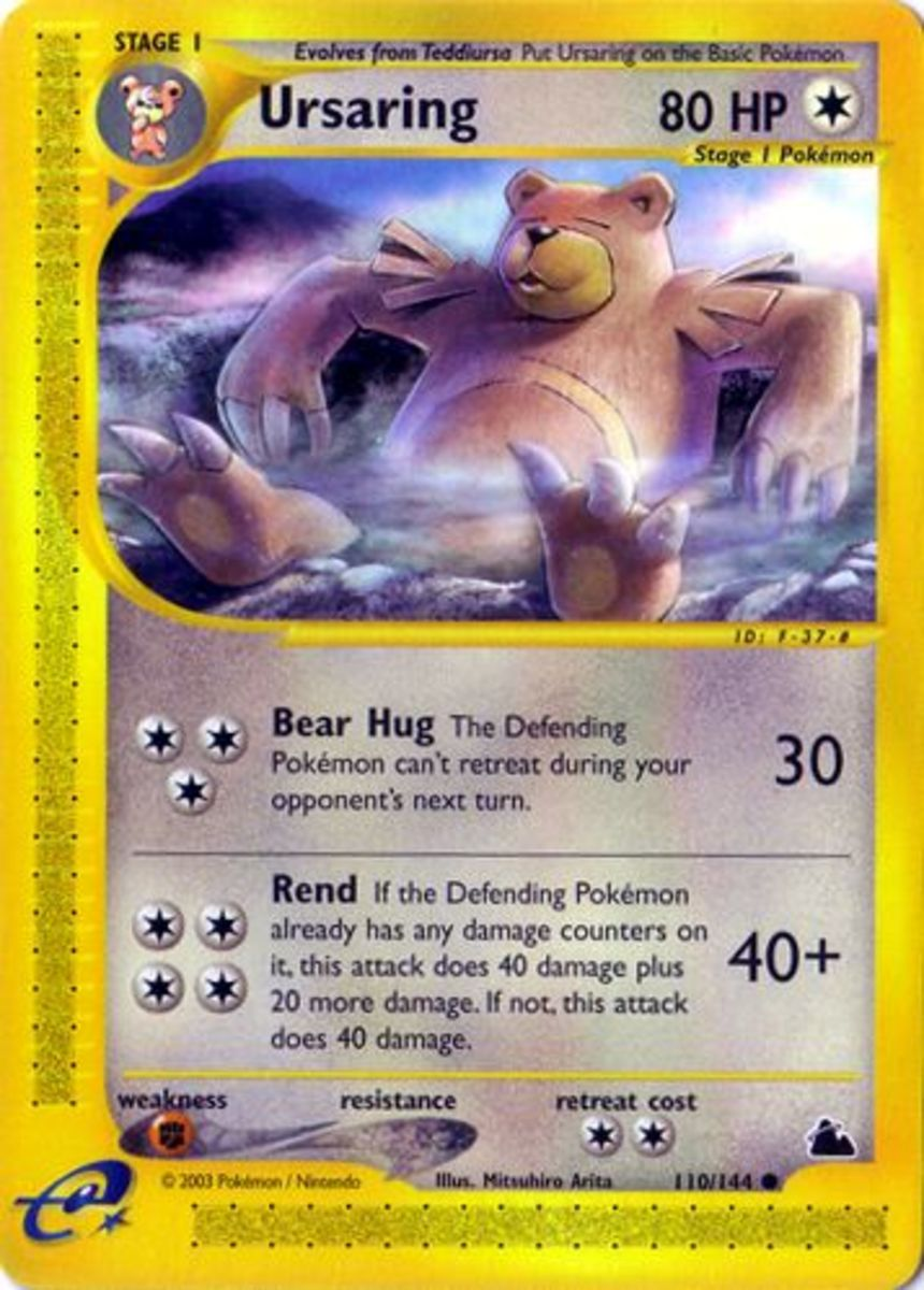 Top 6 Pokemon Cards: Skyridge Expansion