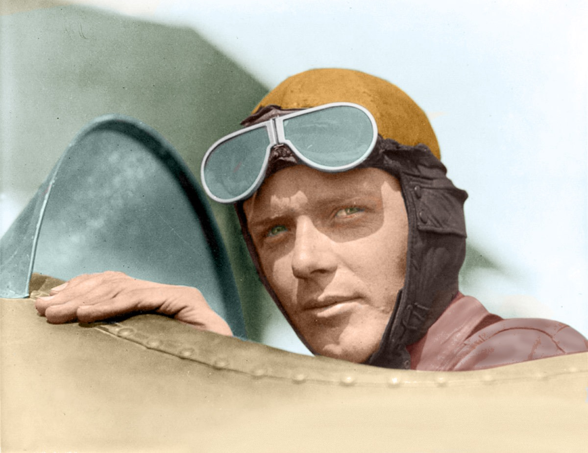 Charles Lindbergh – Aviator, Explorer, Environmentalist, Author