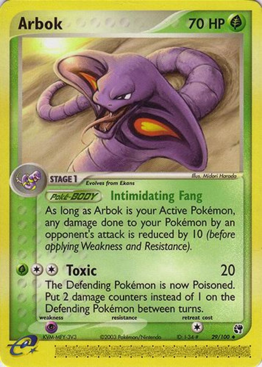 Top 6 Pokemon Cards: EX Sandstorm Expansion