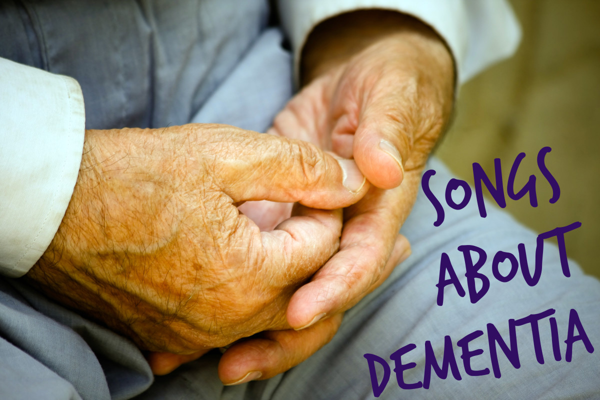 These pop, rock, country, and folk songs are a tribute to patients with Alzheimer's and other forms of dementia as well as the families who lovingly support them. Make a playlist of songs about dementia to spread awareness.