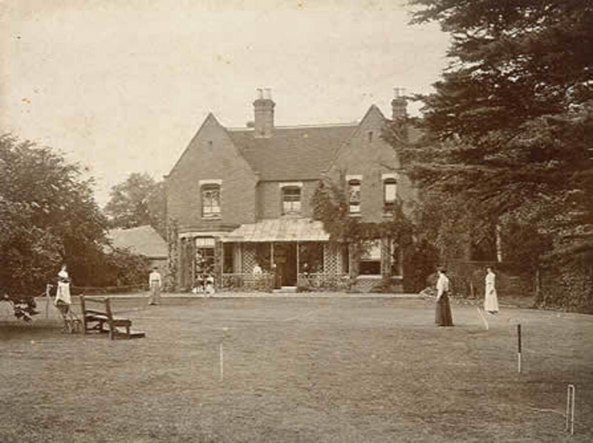 Borley Rectory in 1892.