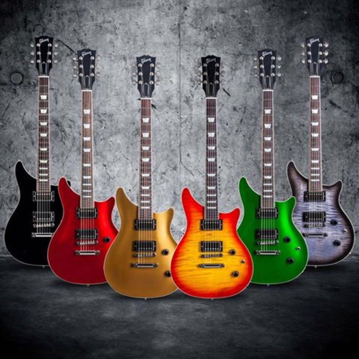 Gibson Custom Modern Doublecut Guitar Vs The Tak Matsumoto Doublecut