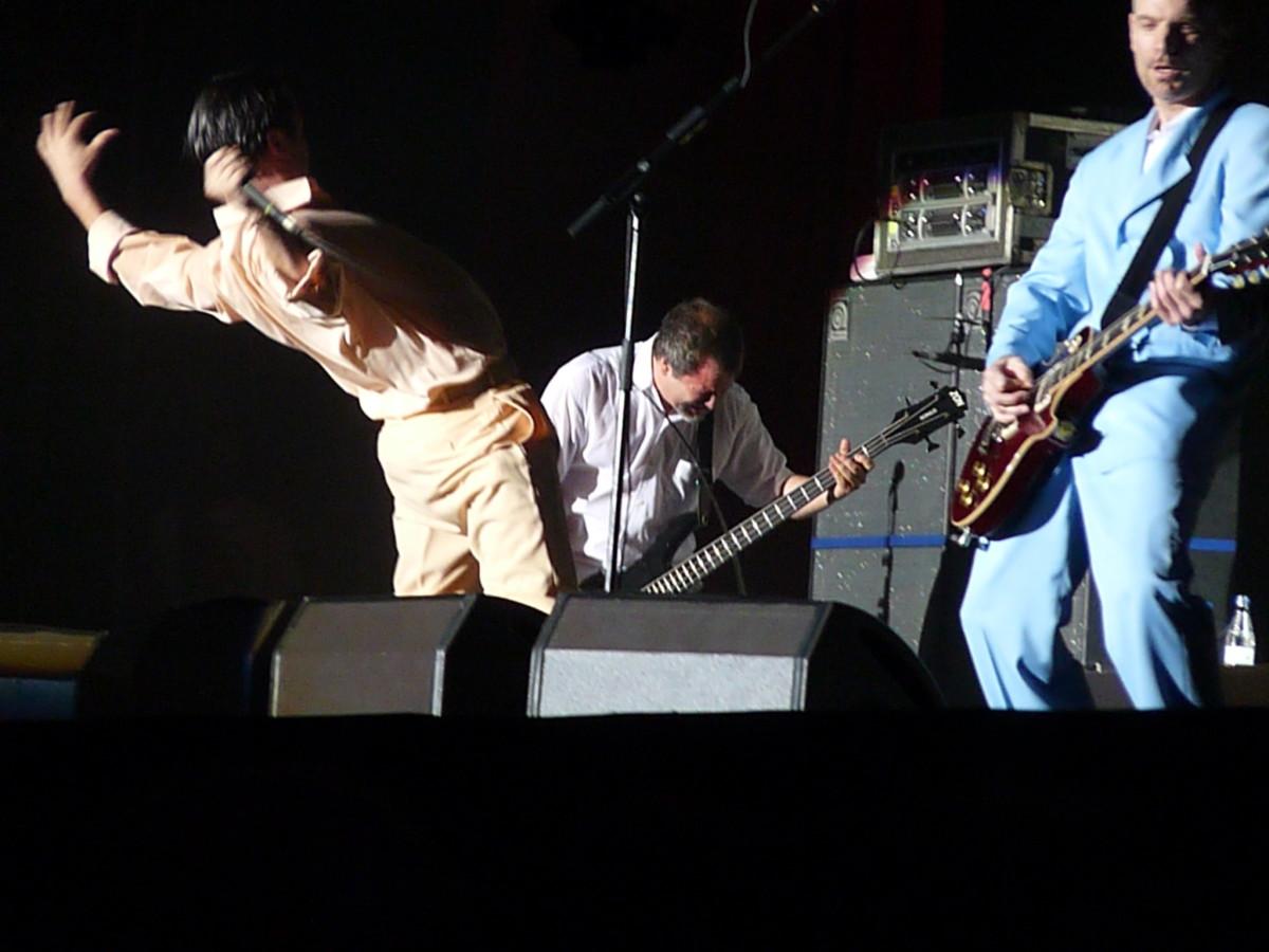 Faith No More onstage