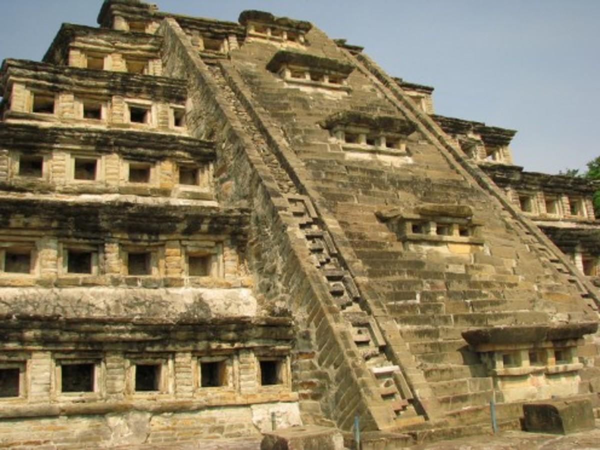 Pyramid of the Niches in El Tajín
